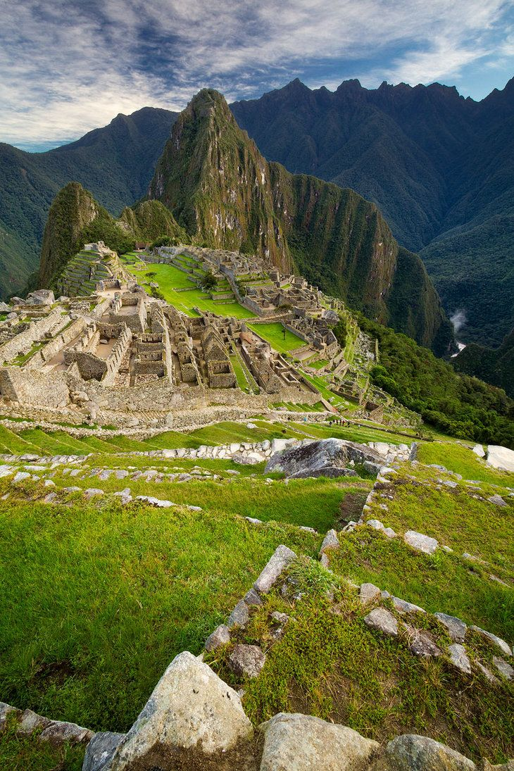 If I ever get to visit here, I'm sure it will be astounding and mind-opening. Macchu Picchu Sunrise by StevenDavisPhoto