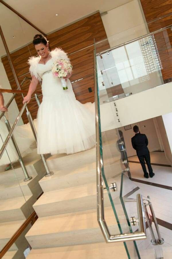 First Look At Krista And Austins Modern MGM Grand Suite Reception From Tyler Freear Photography Featured On Little Vegas Wedding