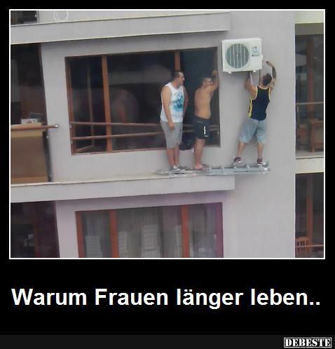 Various Leben Lachen Kämpfen