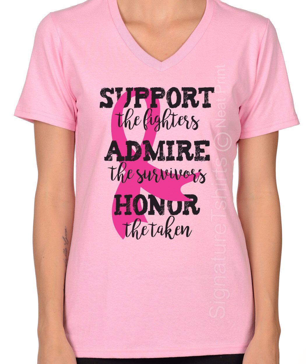 4908f917 Gift For Breast Cancer Survivor, Breast Cancer Shirt, October Pink Ribbon  Shirt, Support