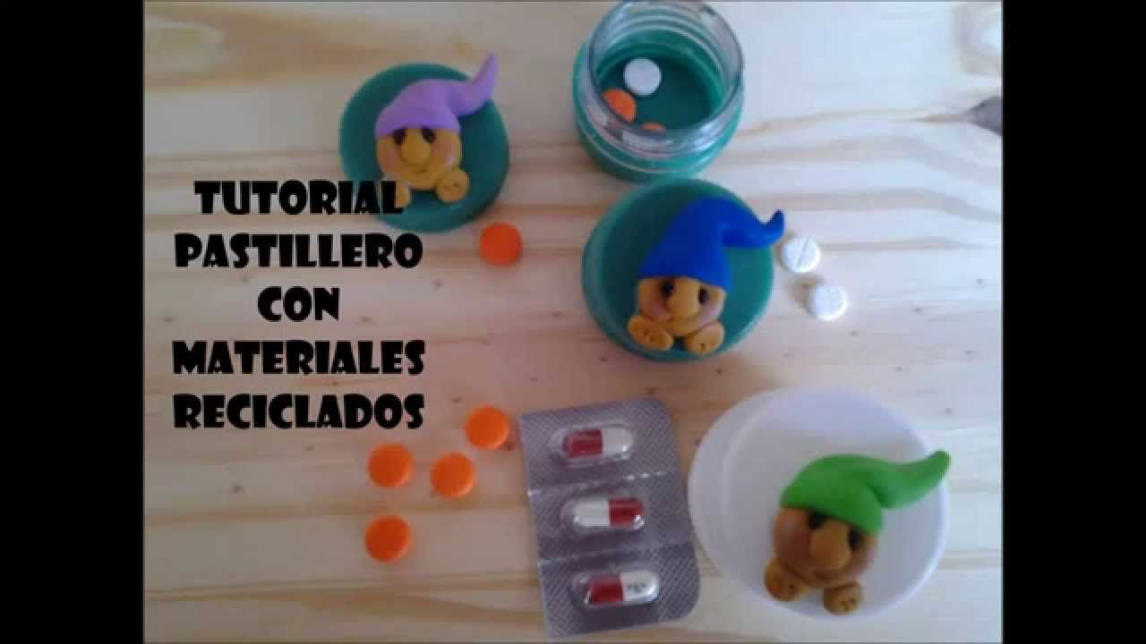 Tutorial Pastillero DIY