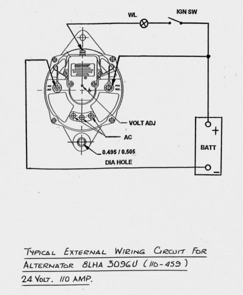 Prestolite Marine Alternator Wiring Diagram Starfm Me