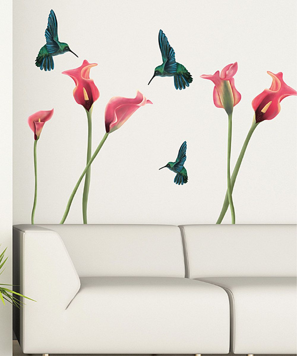 Love This Hummingbird Wall Decal Set By Art Applique On Zulily