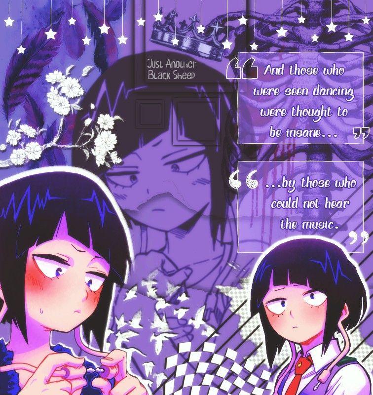 Kyoka Jiro Edit By Just Another Black Sheep Bnha Mha Jiro Kyoka Hero Wallpaper Anime Kyoka