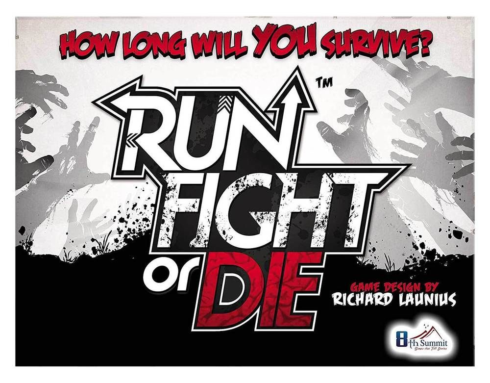 Run Fight or Die Board Game Board games for couples