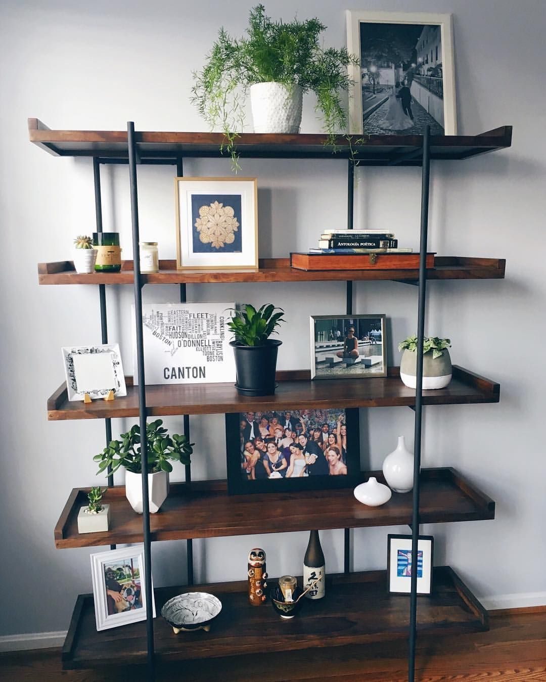 Finally Making Our House Into A Home Crate Barrel Beckett 5 High Shelf Living Room Inspiration S Crate Barrel Living Room Home Decor Living Room Remodel