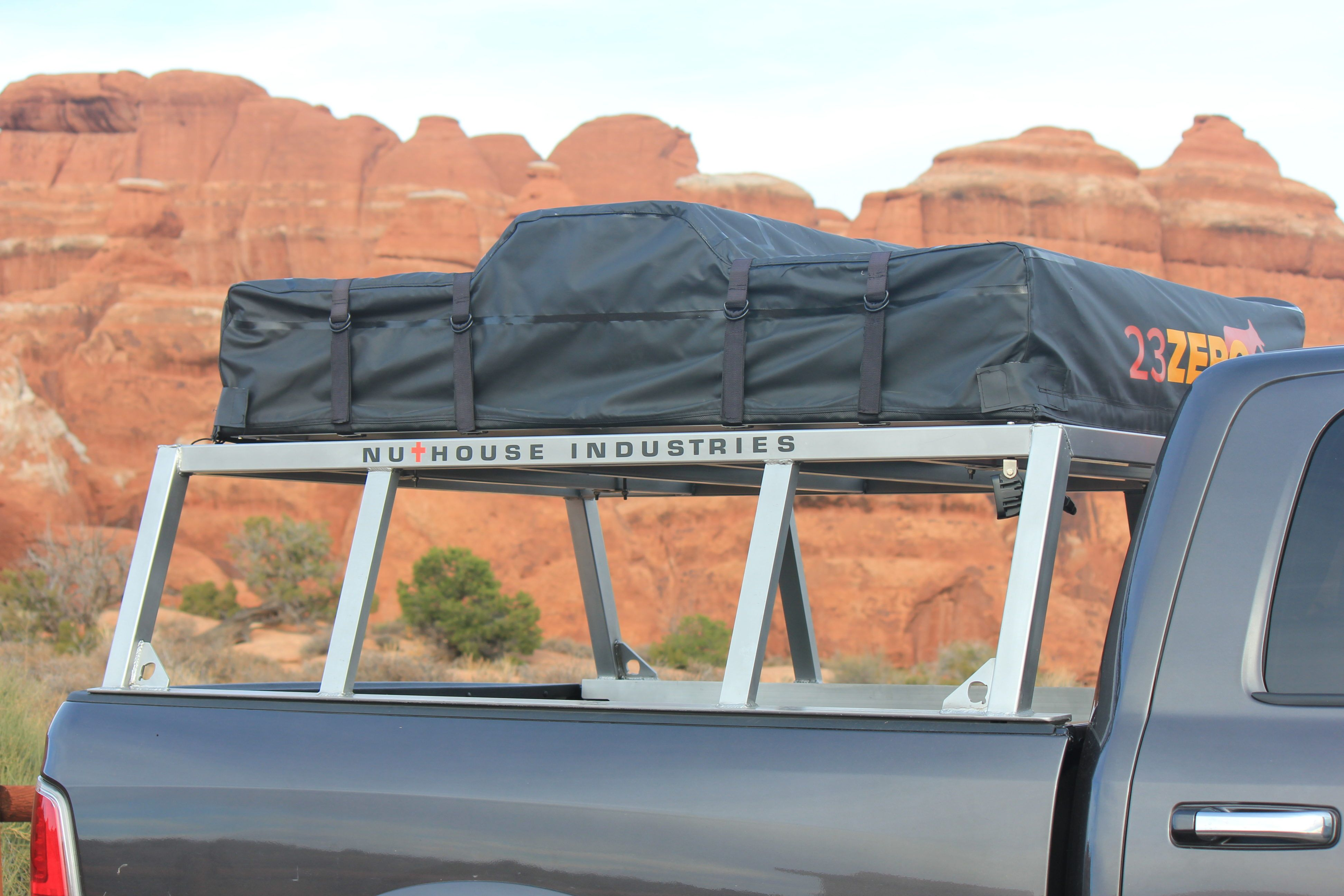 Nutzo Tech 1 series Expedition Truck Bed Rack Custom