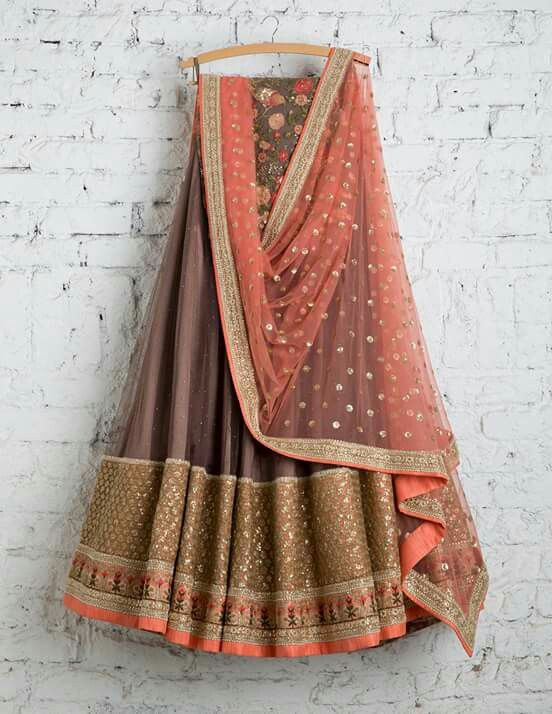 Indian Designer Wear Color Combination