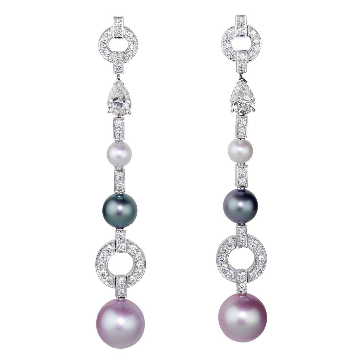 CIJ International Jewellery TRENDS & COLOURS - Earrings by Cartier
