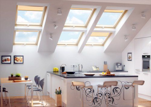 cortinas para ventanas velux cortinas Pinterest Kitchens