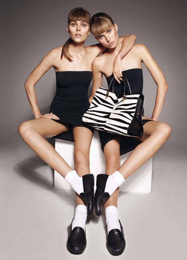 Maryna Linchuk & Cato van Ee by Cuneyt Akeroglu for Vogue Paris
