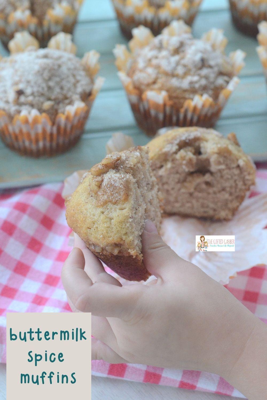 Mimi S Cafe Buttermilk Spice Muffins Recipe The Gifted Gabber Recipe In 2020 Spice Muffin Recipe Spice Muffins Cinnamon Oatmeal Cookies