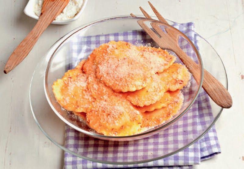 Tortelli con peperoni e salsa di formaggio ingredienti for Cucinare per 300 persone