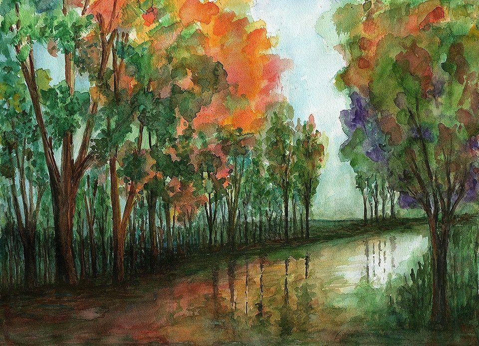 Después de la lluvia - Autor: María Laura Fasan