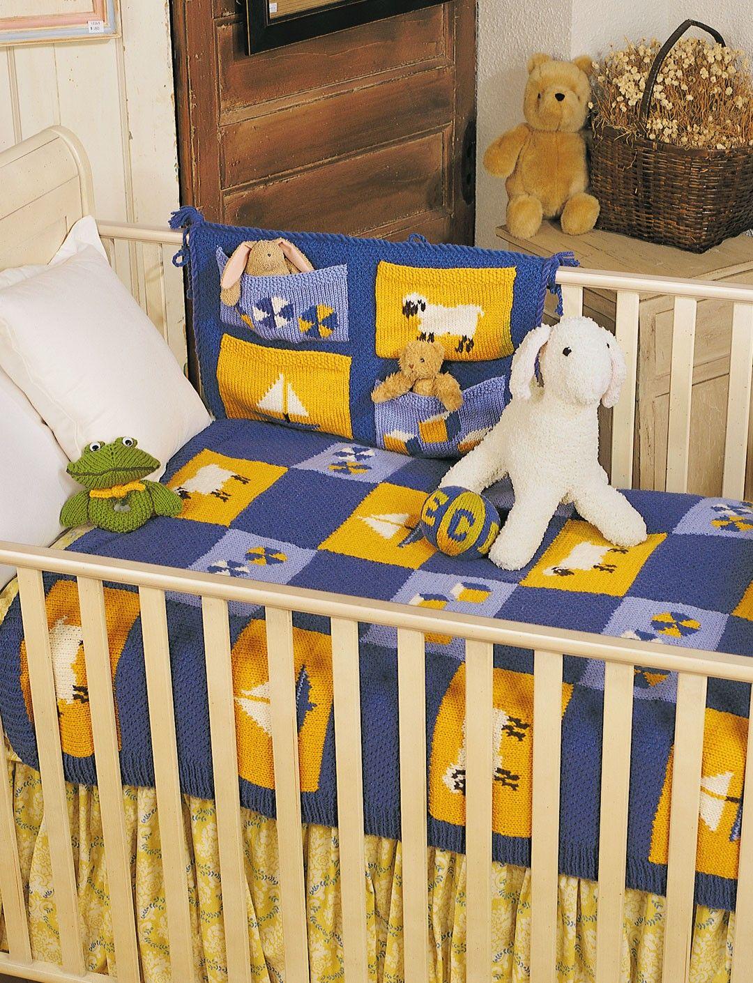 Yarnspirations Patons Nursery Set Patterns