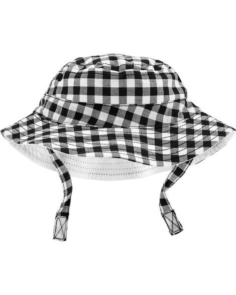 67c5029d3e863 Gingham Bucket Hat