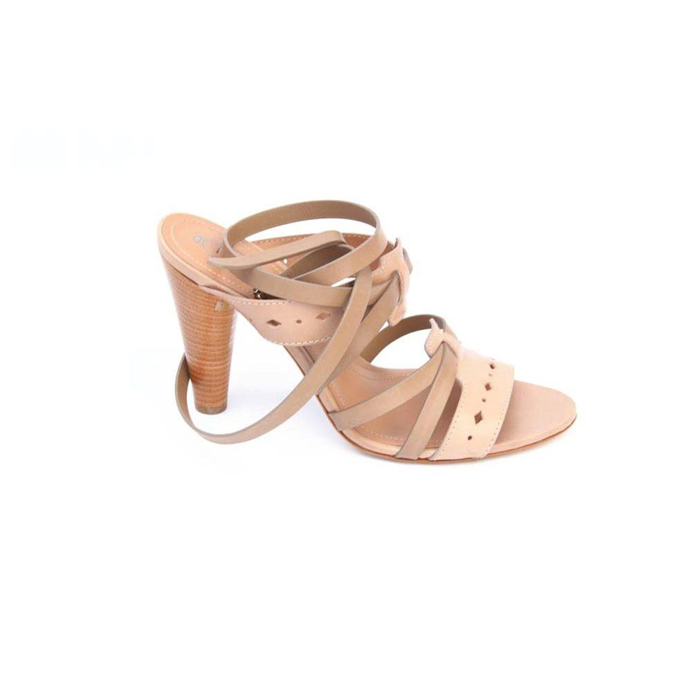 Taupe 37 EUR - 6.5 US (247mm) Tod\s ladies sandal XXW0NM0C340D90975Q