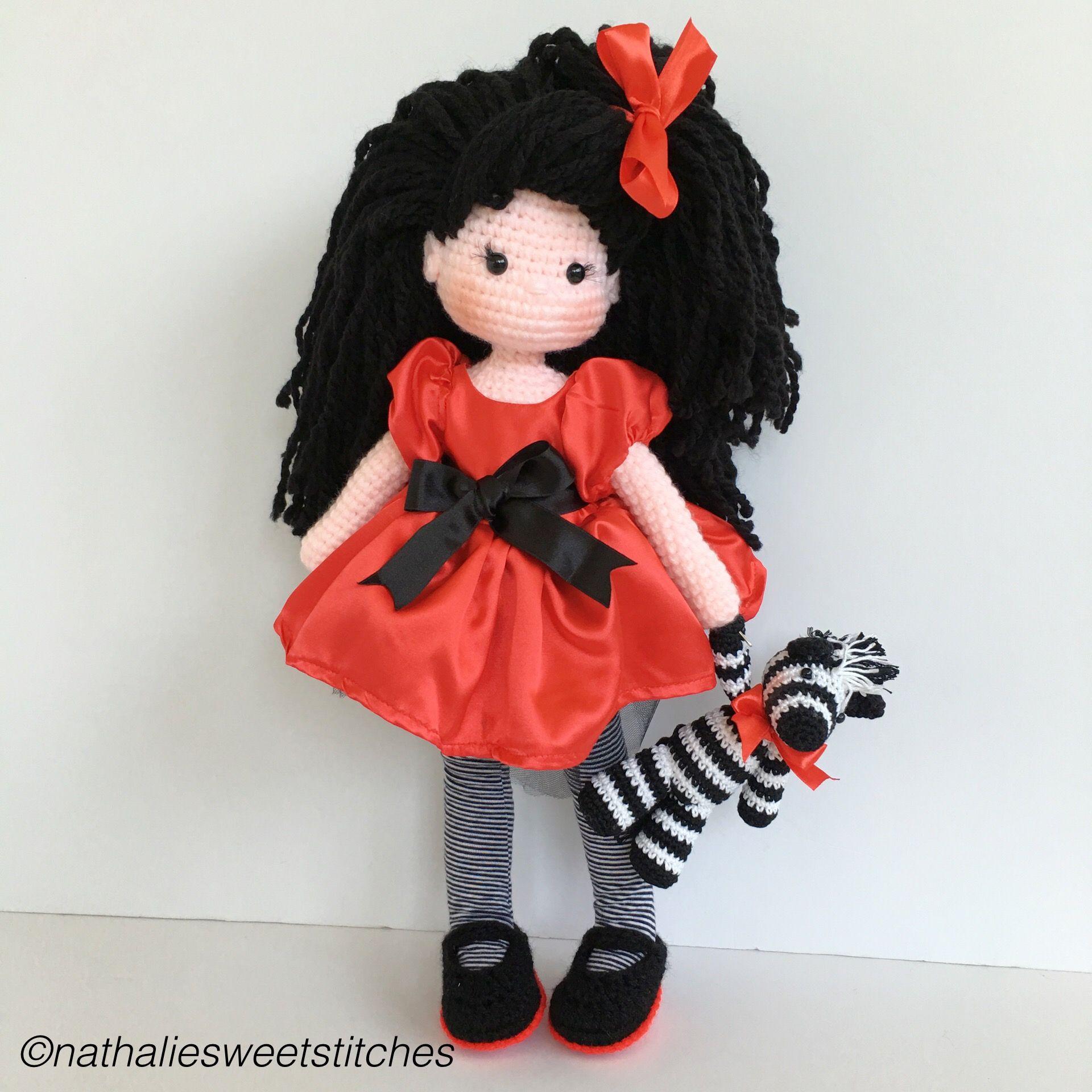 Cutest crochet amigurumi doll ♡ lovely doll | Muñec@s amigurumi ...