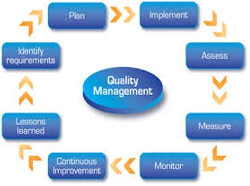quality management ensures that an organization  product