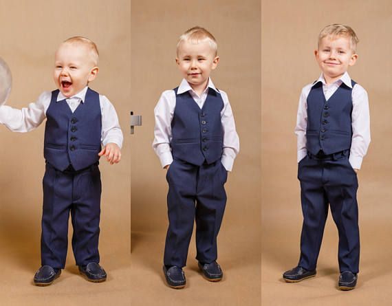 Navy blue suit vest for boys lincoln finance investment calculator