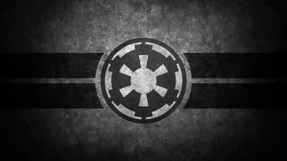 Imperial Cog Insignia Symbol Desktop Wallpaper By Swmand4 On Deviantart Star Wars Wallpaper Star Wars Background Star Wars The Old