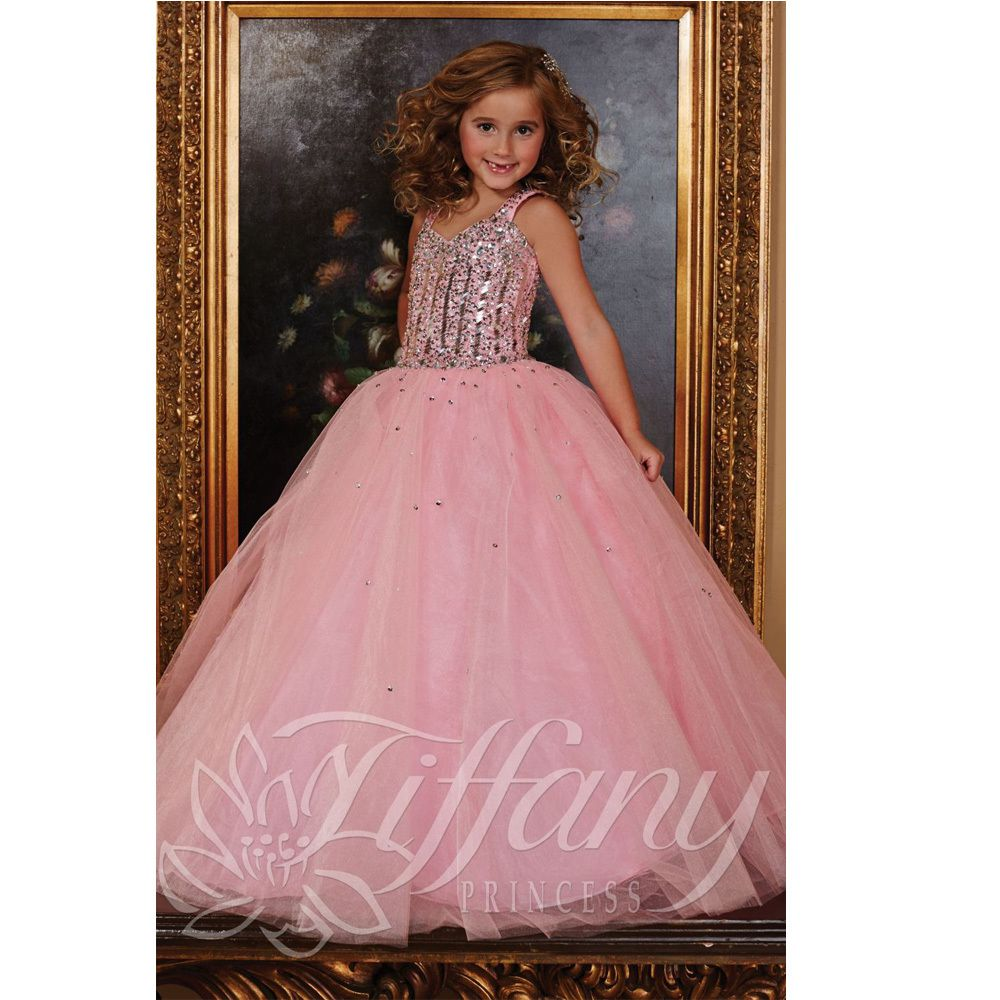 Pink little flower girls dresses for weddings baby party frocks sexy