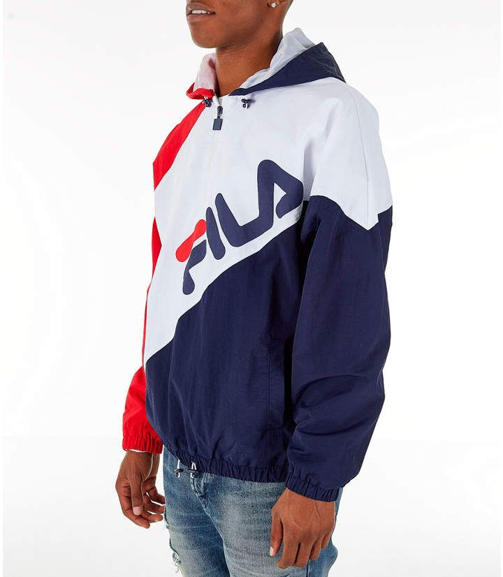 598b6c600 Fila Men's Harrison Half-Zip Nylon Hoodie in 2019 | Products ...