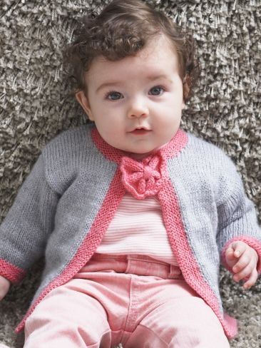 97ec7d793 Pretty Bow Tie Baby Cardigan