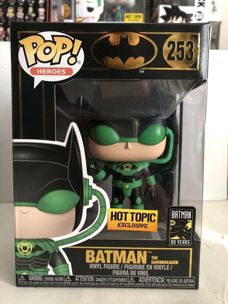 Funko POP Heroes: Batman The Dawnbreaker Hot Topic Exclusive! #253