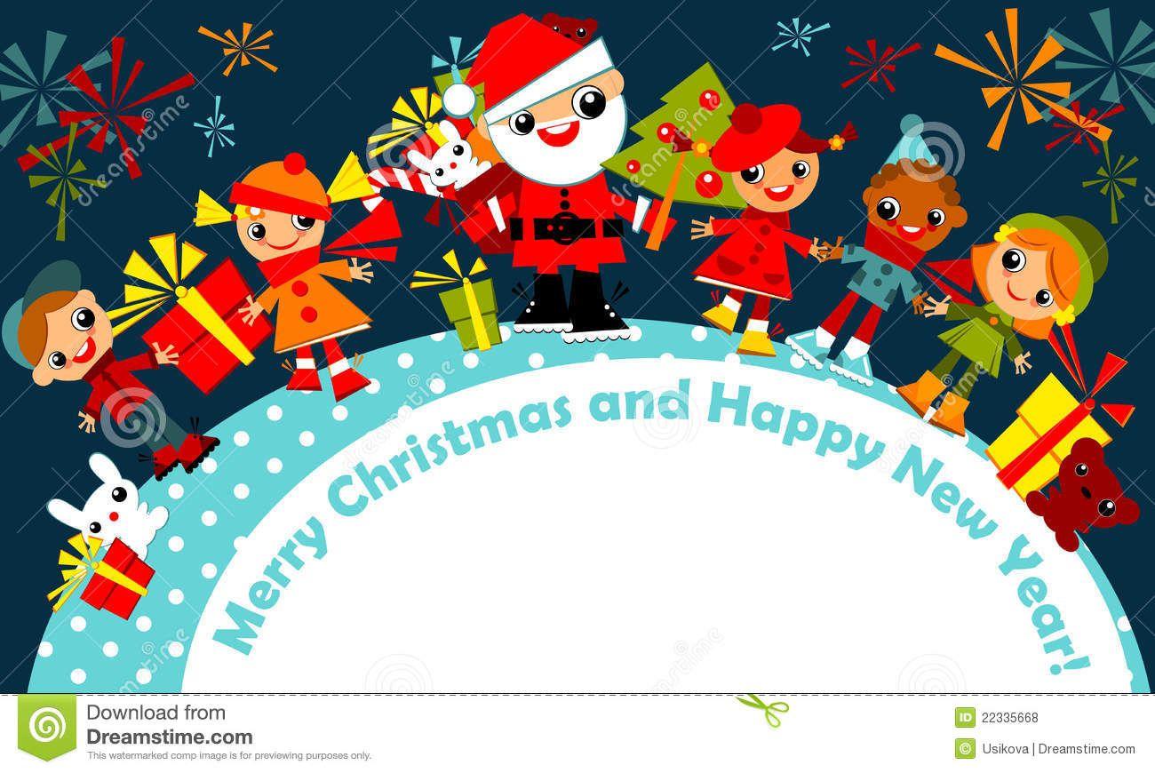Merry Christmas Greetings For Kids