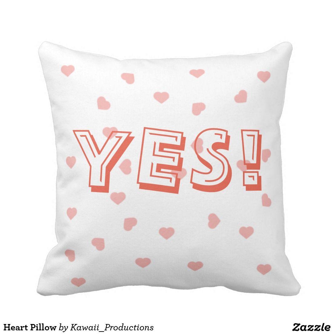 Heart Pillow Heart Pillow Pillows Decorative Throw Pillows