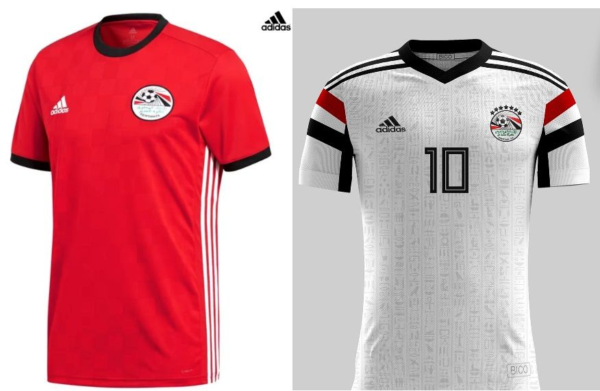 bc6868754f World Cup 2018 Kits Egypt (Home  amp  Away Jerseys) – Adidas https