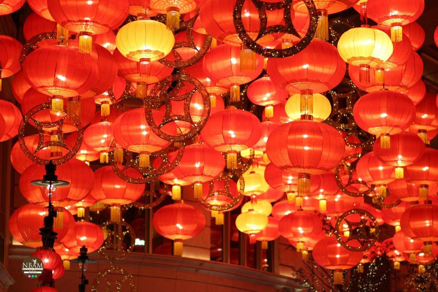 The chinesenewyear special stunning red lanterns 😍 🌸