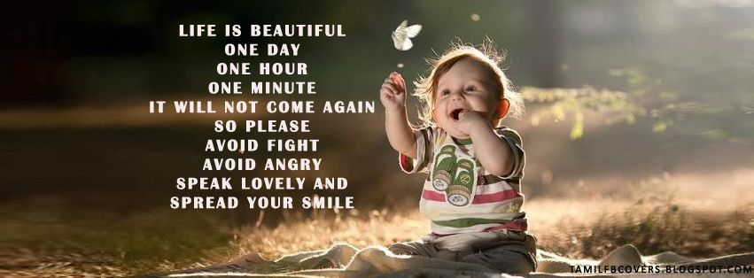 Life Is Beautiful Life Quotes Fb Cover