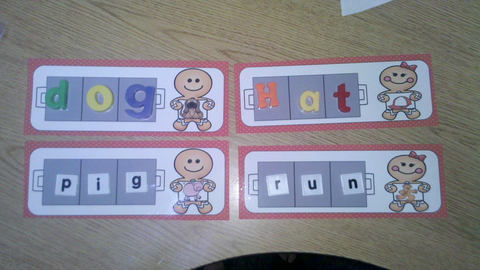 Baking Cvc Words With The Gingerbread Man By Jaimie