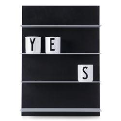 Design Letters Paper Shelf