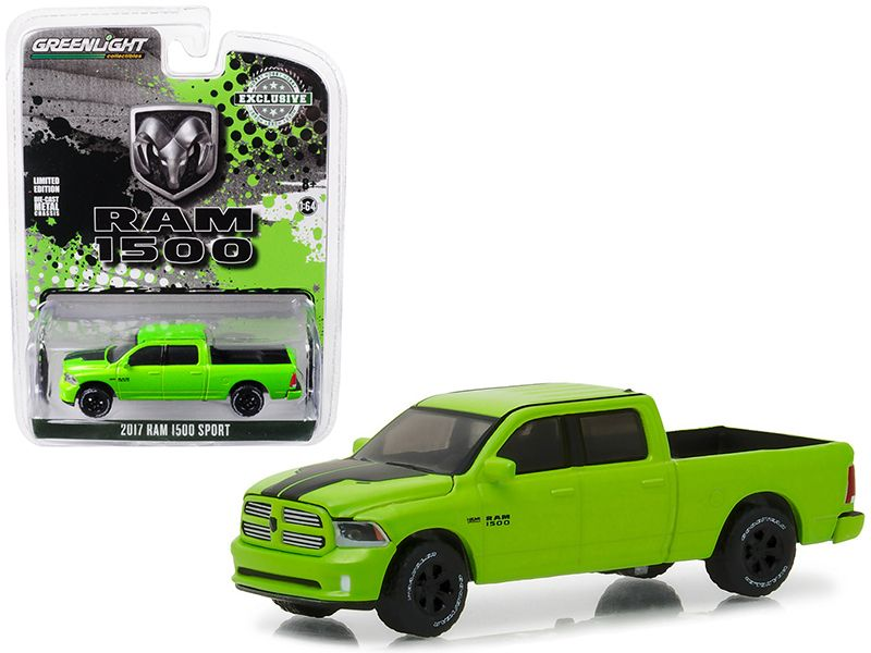 2017 Dodge Ram 1500 Sport Pickup Truck Sublime Green Pearl