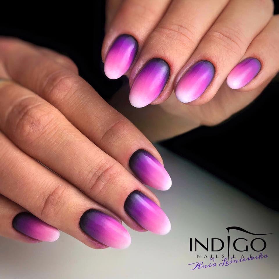 Ombre Nail By Indigo Educator Anna Lesniewska Nails Nail Indigo
