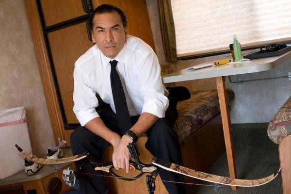 Eric Schweig. Why are you always so damn good looking.