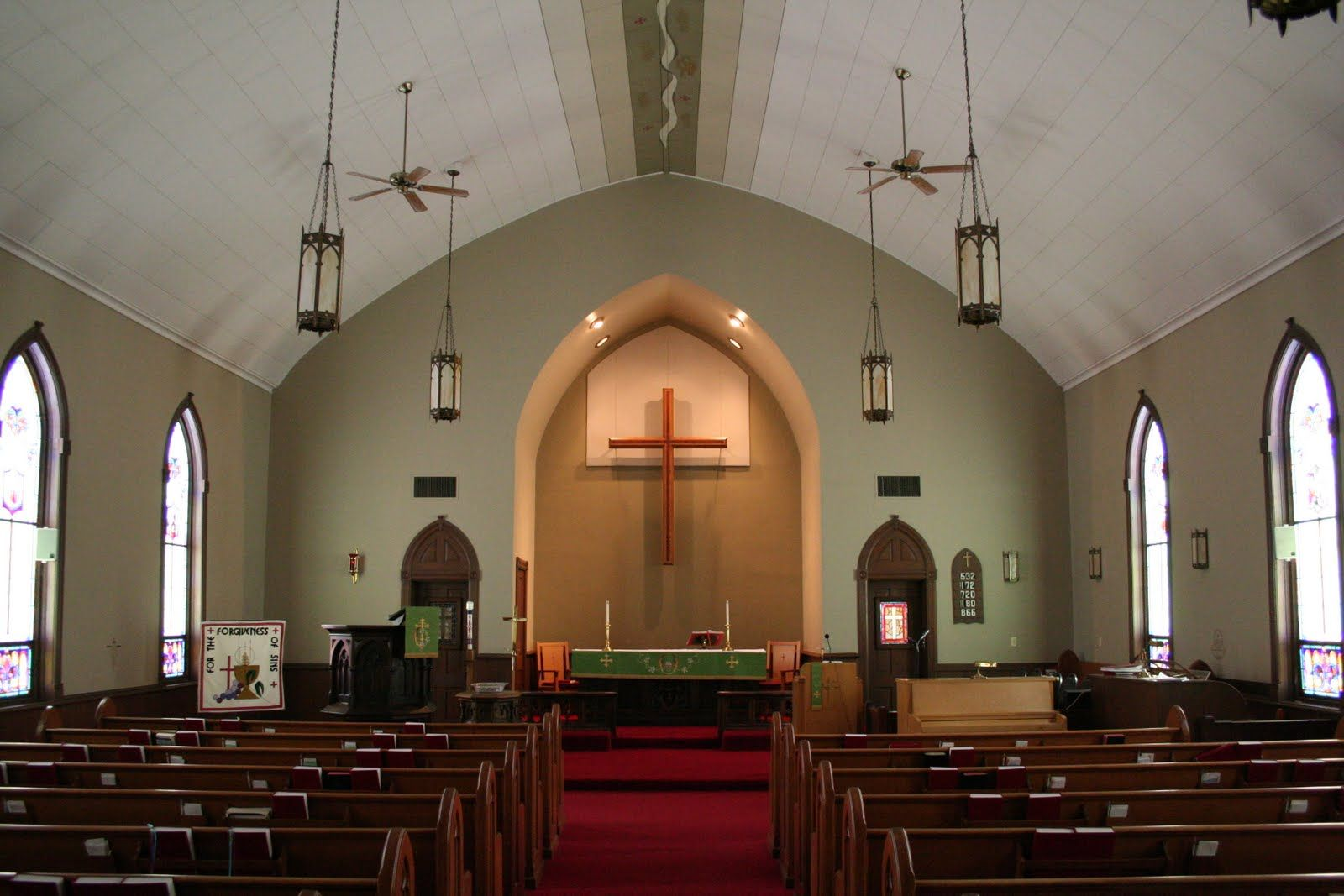 Rural Church Sanctuary Google Search Lighting Pinterest White Ceiling Color Walls And