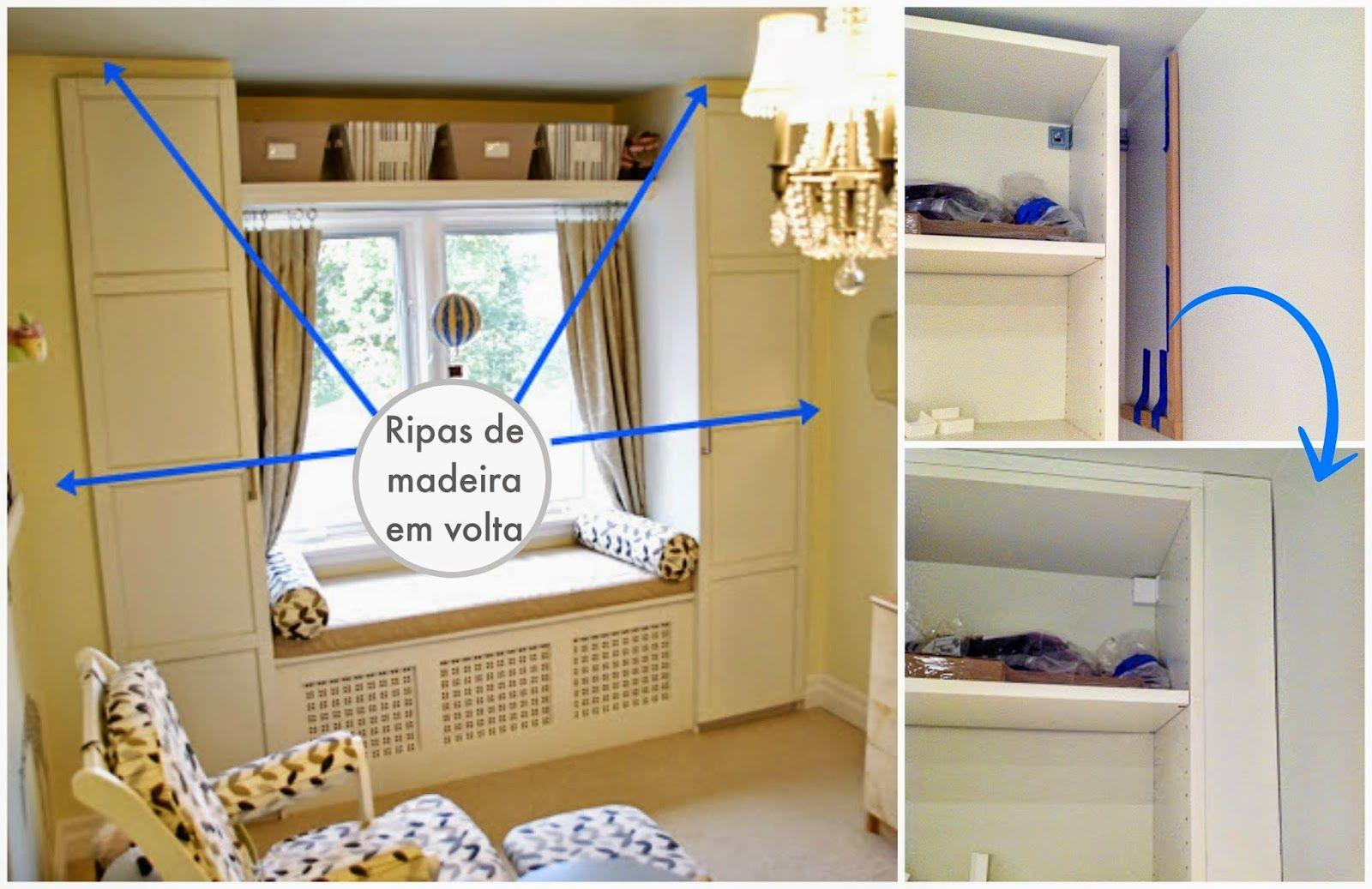 Como fazer seu móvel parecer feito sob medida  Madeira, Quartos e Pesquisa