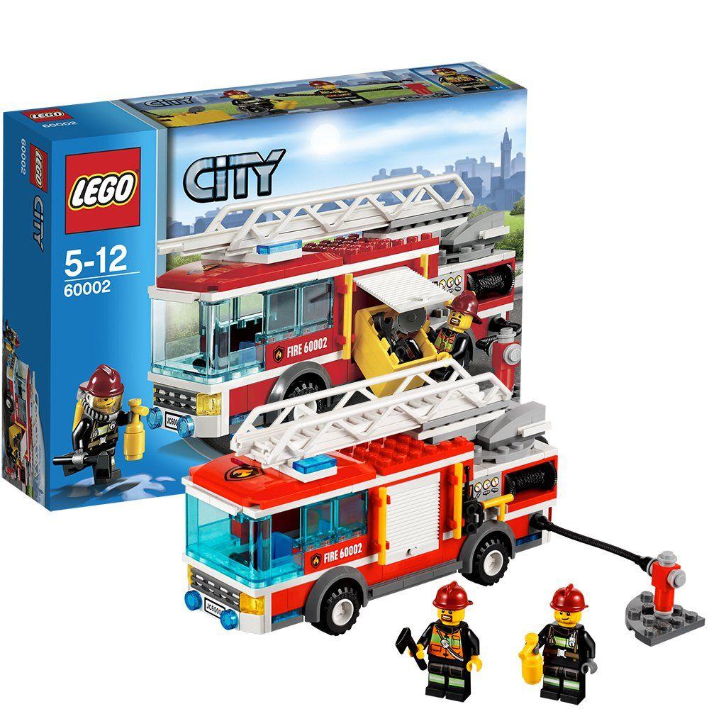 Lego city cami n de bomberos 60002 - Lego city camion police ...