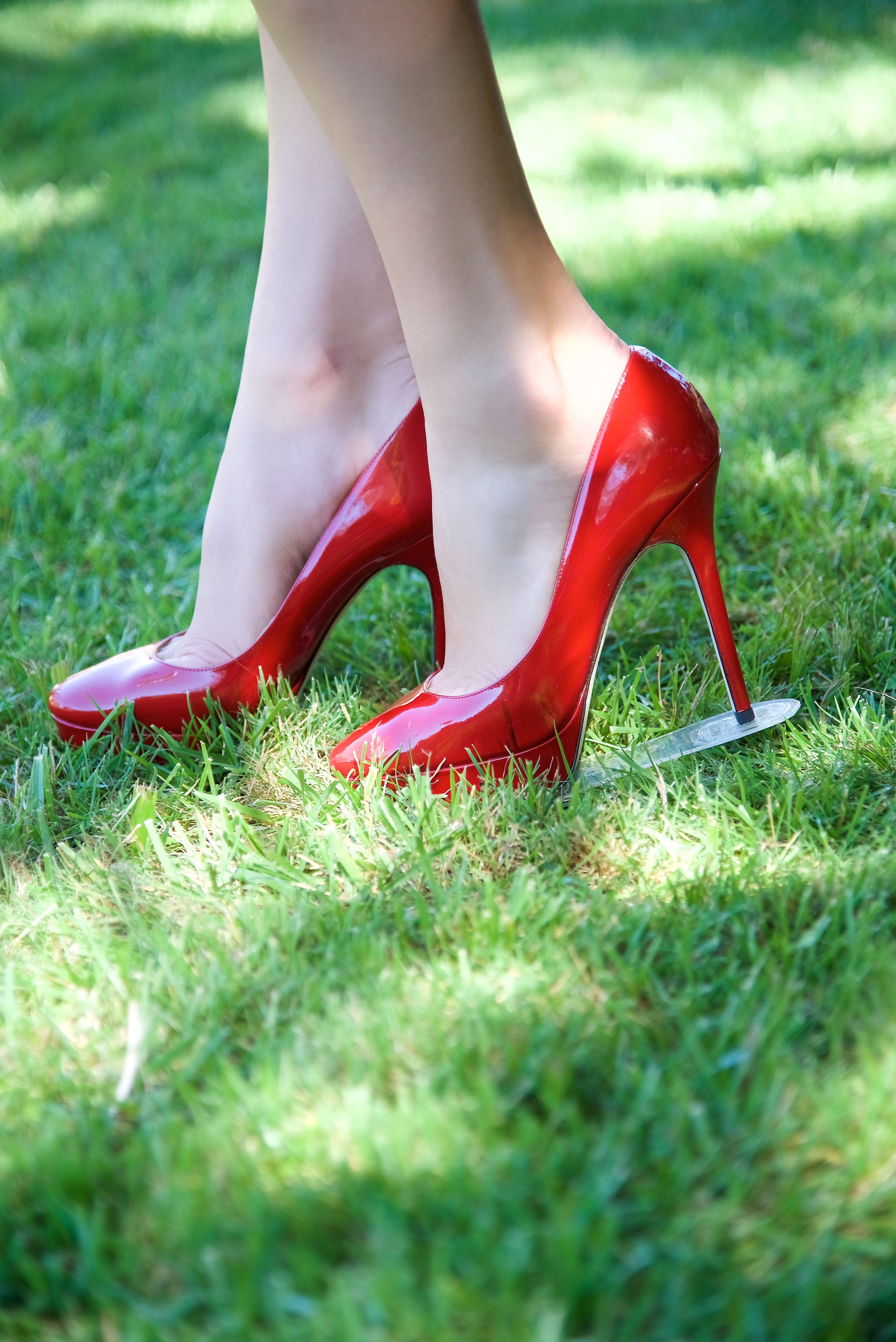 ab3f6d004ff3 Protect your heels from grass with Grasswalkers. Our heel stopper  technology lets you wear your favorite heels at outdoor events without  risking to ruin ...