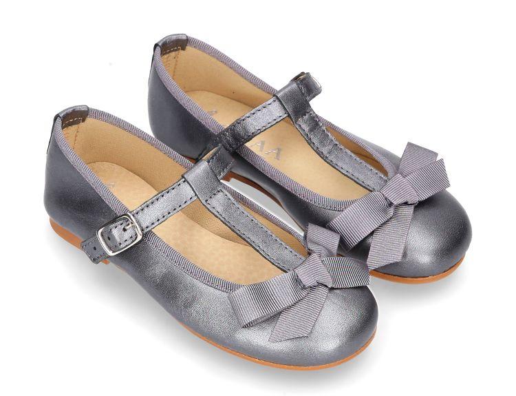 Zapatos negros Mod8 infantiles Rk1tm