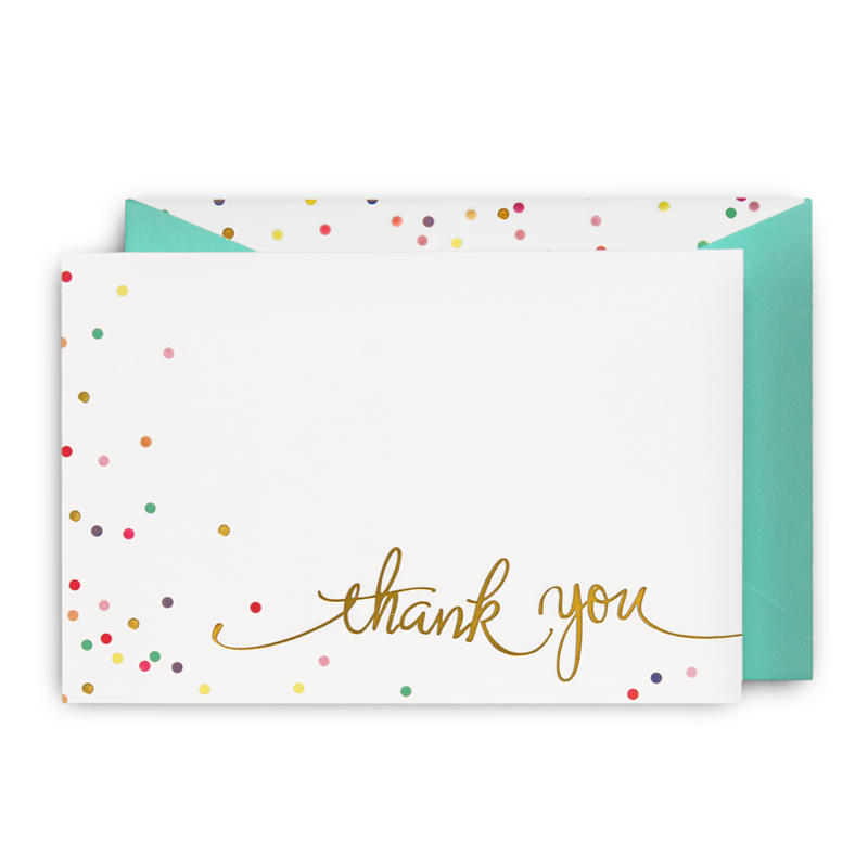 Hundreds and thousands thank you cardg 800800 kate spade introducing our new time to celebrate invitation and thank you card range with the perfect invitation and thank you card for any occasion thecheapjerseys Images