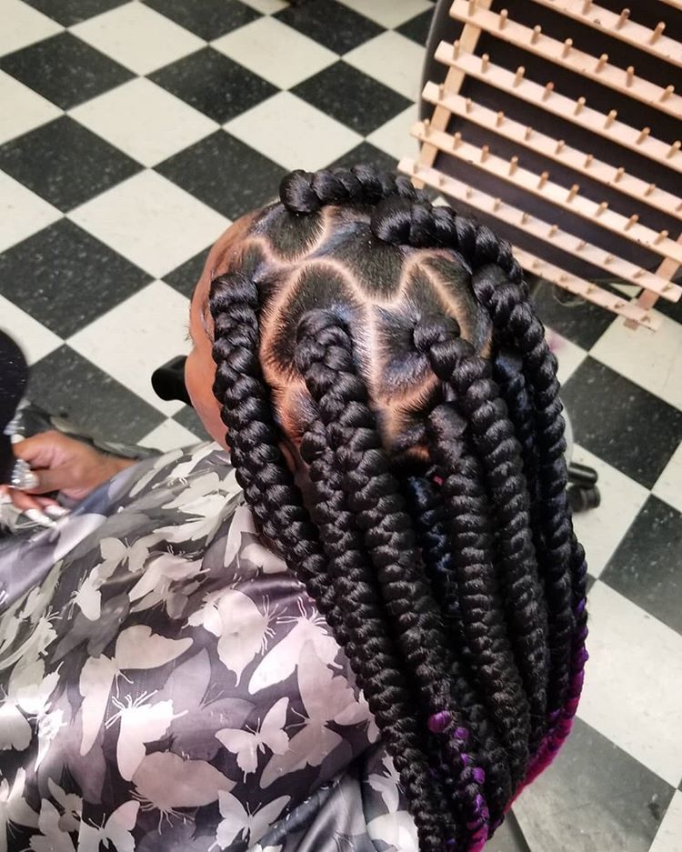 Pin by Jacquilyn on Black girl braids | Black girl braids, Black girl makeup, Hair styles
