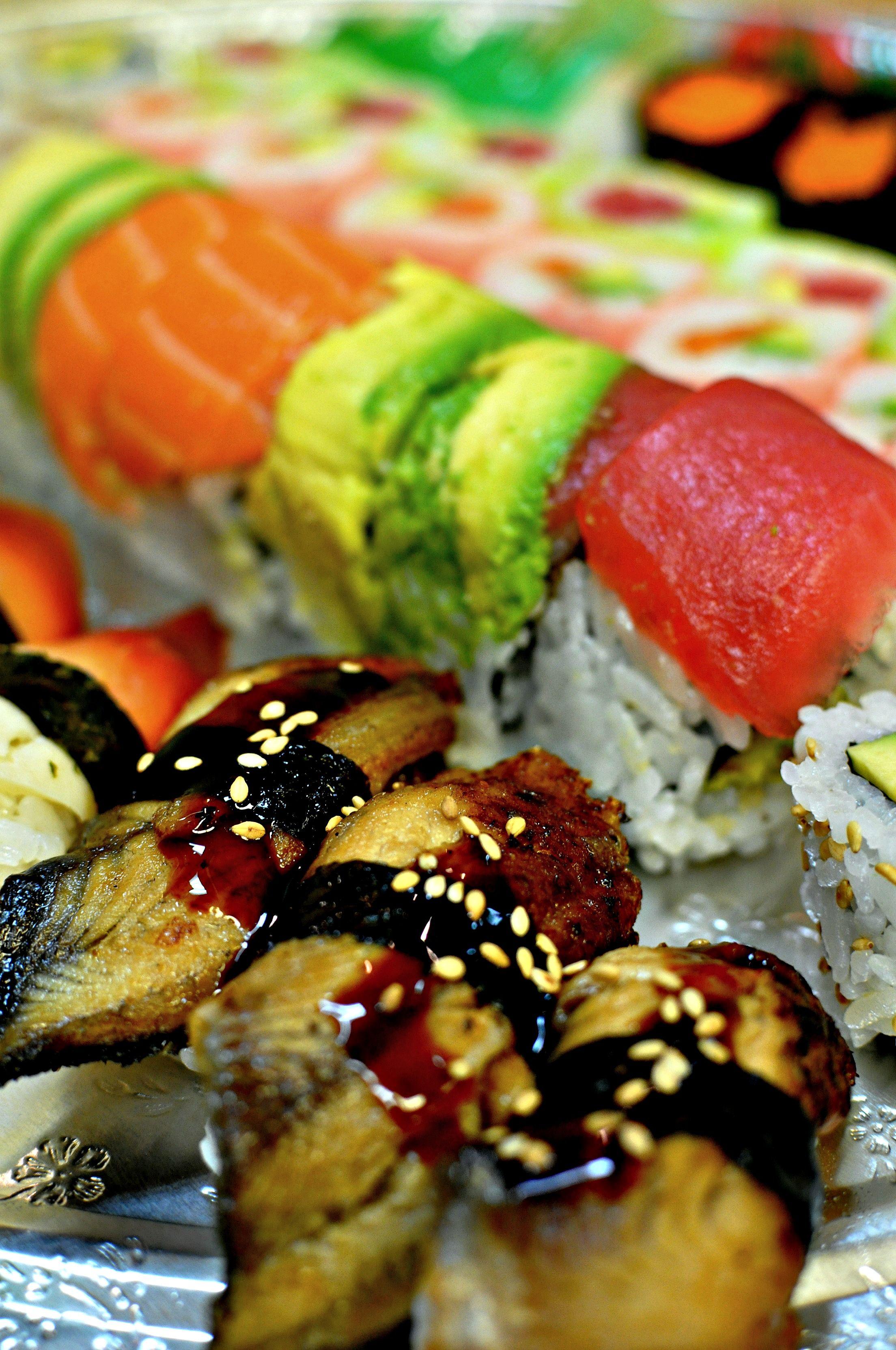 Tensuke Market Chicago catering sushi platter www