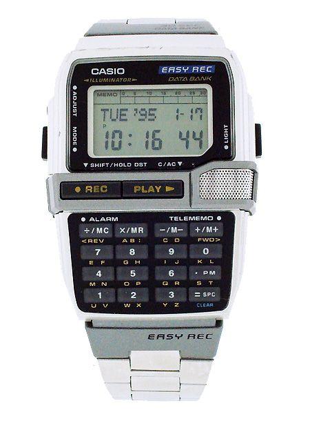 8a03bbe1265 Casio - DBC V500:データバンク?いいね。 Retro Watches