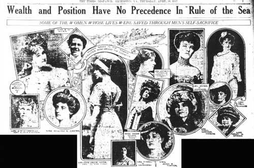 The Times Dispatch, Richmond, VA, Thursday, April 18, 1912