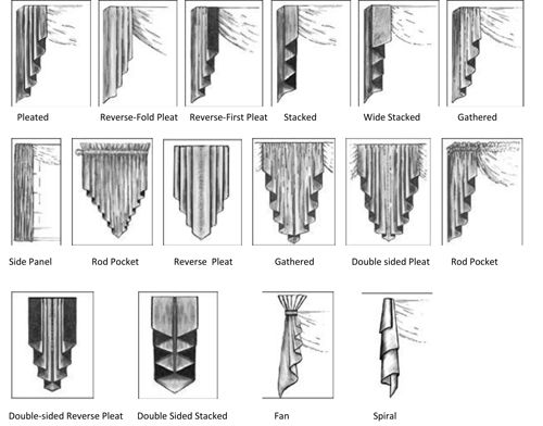 How To Make Swag And Jabot Curtains Dining Room